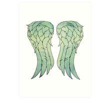Daryl Dixon's jacket wings Art Print