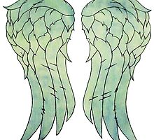 Daryl Dixon's jacket wings by jamiesonmurphy