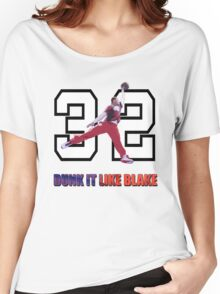 """Dunk It Like Blake"" Women's Relaxed Fit T-Shirt"