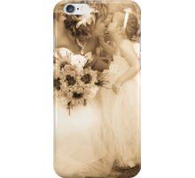 Flower Girl Kiss iPhone Case/Skin