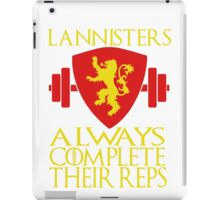 Lannister Workout iPad Case/Skin