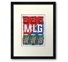 MLG Framed Print