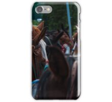 Band of Horses Feeding in Colorado  iPhone Case/Skin