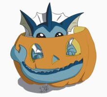 Spooky Vaporeon by AwkwardHandsome