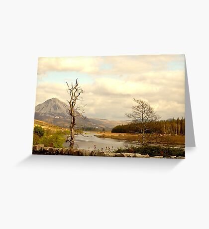 Mount Errigal From The Lodge Greeting Card