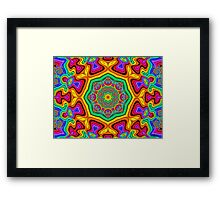 Crazy and Fun Framed Print