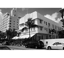 Miami Beach - Art Deco Photographic Print
