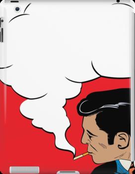 The smoker by Richard Laschon