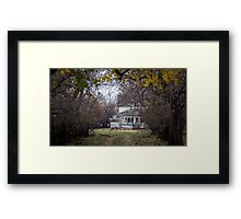 Once Upon a Dream House Framed Print