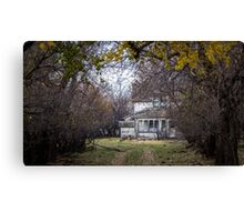 Once Upon a Dream House Canvas Print
