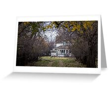 Once Upon a Dream House Greeting Card