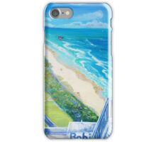 From Surfers Paradise the Gold Coast Queensland from High Surf iPhone Case/Skin