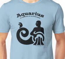 Signs of the Zodiac:   AQUARIUS Unisex T-Shirt