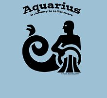 Signs of the Zodiac:   AQUARIUS Unisex T-Shirt