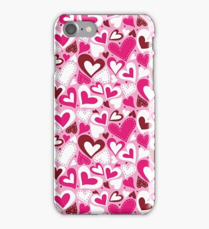 Funny Pink Love iPhone Case/Skin