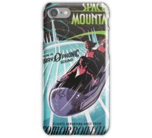Space Mounain iPhone Case/Skin