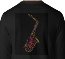 Saxophone Long Sleeve T-Shirt
