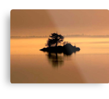 """""""And The Fog Rolls In"""" Metal Print"""