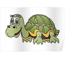 Turtle Cartoon Poster
