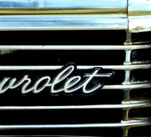 Chevrolet Impala Grill Sticker