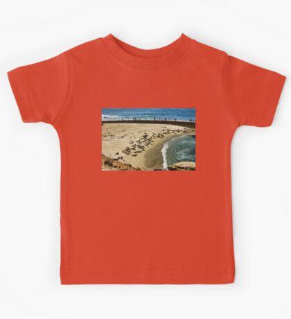The Children's Pool Beach Seals in La Jolla California Kids Tee