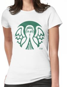 Starbucks Don't Blink Womens Fitted T-Shirt