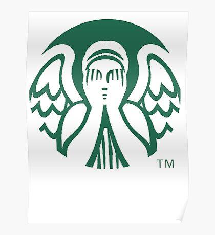 Starbucks Don't Blink Poster