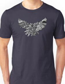 Geometric Owl Pattern Unisex T-Shirt