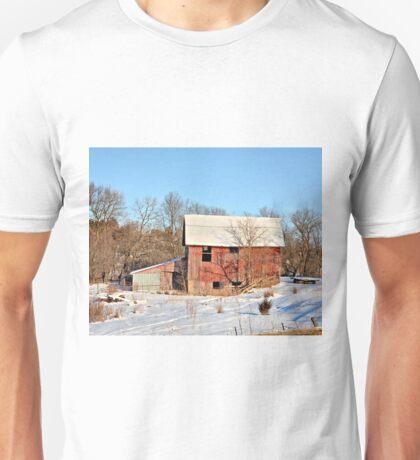 Cool Red Barn Unisex T-Shirt