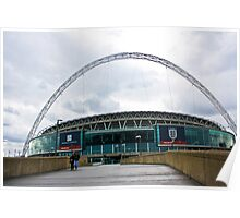 Wembley Stadium Poster