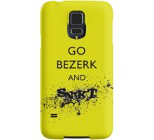 Go Bezerk and SNIKT! Samsung Galaxy Case/Skin