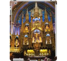 Notre Dame Montreal iPad Case/Skin