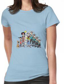 lucky luke Womens Fitted T-Shirt