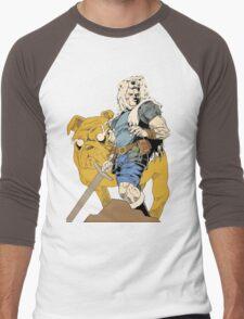 Adventurous Timing ~ Colored Heroes Men's Baseball ¾ T-Shirt