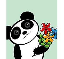 Panda lover Photographic Print