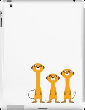 Meerkats by Richard Laschon