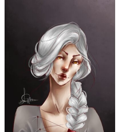 Throne of glass: Manon Blackbeak Sticker