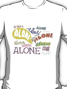 Squidward's Alone T-Shirt