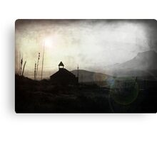 Living in Ghost Town Canvas Print