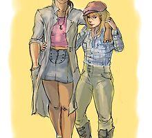 Girlfriends by noravannah