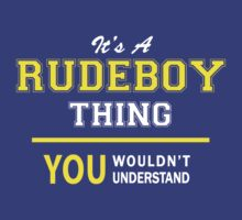 It's A RUDEBOY thing, you wouldn't understand !! by satro