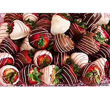 Chocolate Strawberry Decadence!  Photographic Print