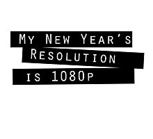 New Year's Resolution #2 Photographic Print