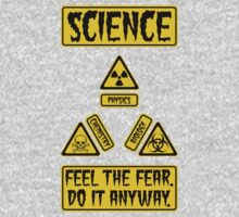 Science - Feel The Fear Do It Anyway Kids Clothes