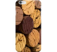 Wine bottle cork ends iPhone Case/Skin