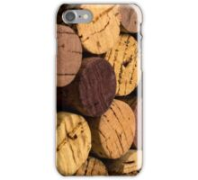 Wine bottle cork ends iPhone Case/Skin