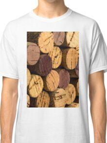 Wine bottle cork ends Classic T-Shirt