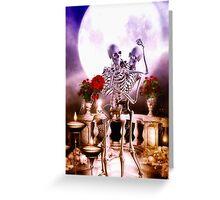 Haunting Honeymoon Greeting Card
