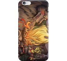 Goblin Mage and Warg Fantasy Art Sticker iPhone Case/Skin