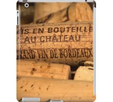 Wine bottle cork from Bordeaux iPad Case/Skin